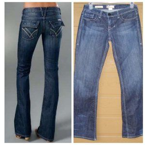 "WILLIAM RAST Jeans, 27"" Waist (26?) Belle Flare"